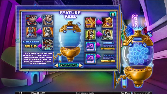 Power Pups Heroes by No Deposit Casino Guide