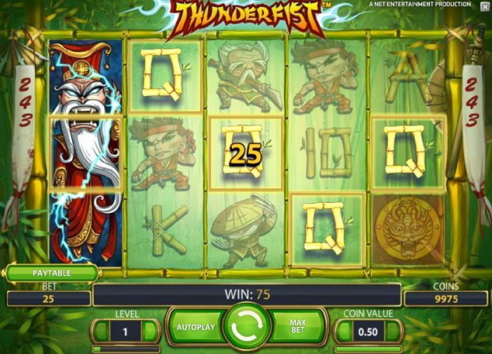 No Deposit Casino Guide - stacked wild triggers 75 payout