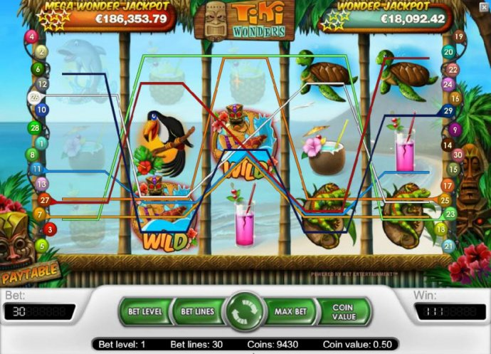 Tiki Wonders by No Deposit Casino Guide