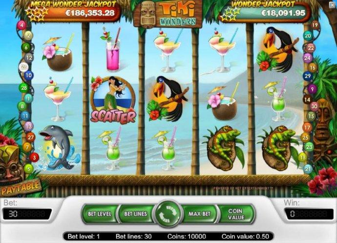 No Deposit Casino Guide image of Tiki Wonders
