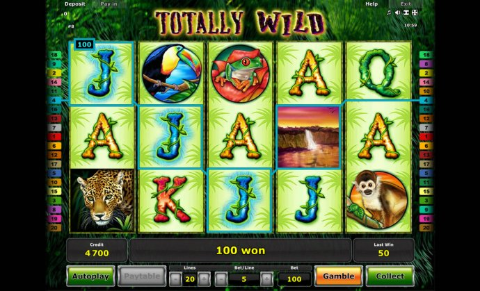 Totally Wild by No Deposit Casino Guide