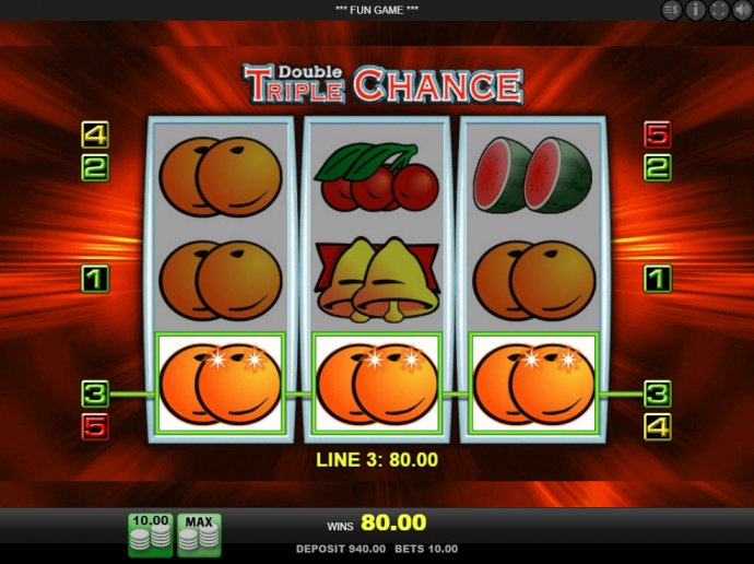 Double Triple Chance by No Deposit Casino Guide