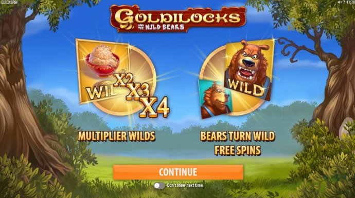 Goldilocks and the Wild Bears screenshot