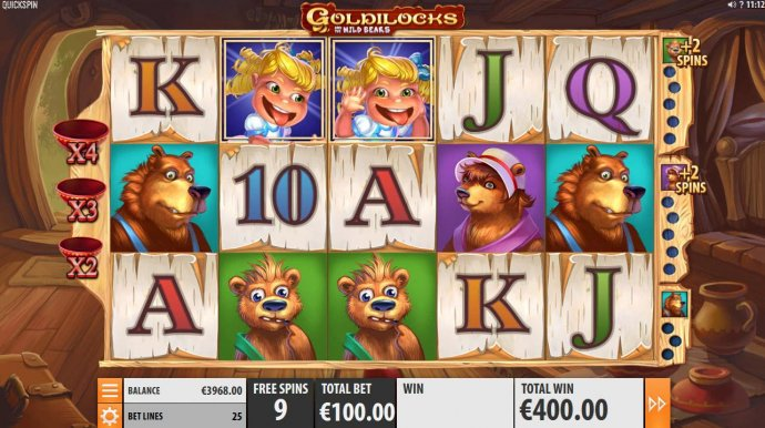 Images of Goldilocks and the Wild Bears