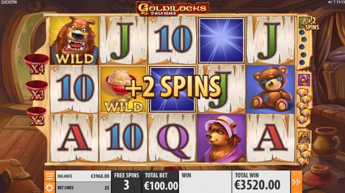 two additional free spins awarded by No Deposit Casino Guide