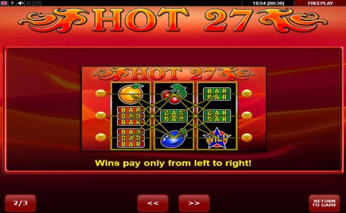 No Deposit Casino Guide image of Hot 27