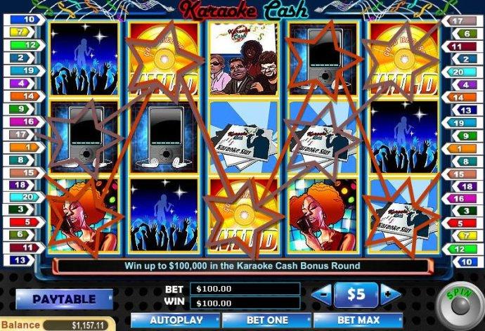 No Deposit Casino Guide image of Karaoke Cash