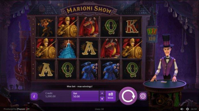 Marioni Show screenshot