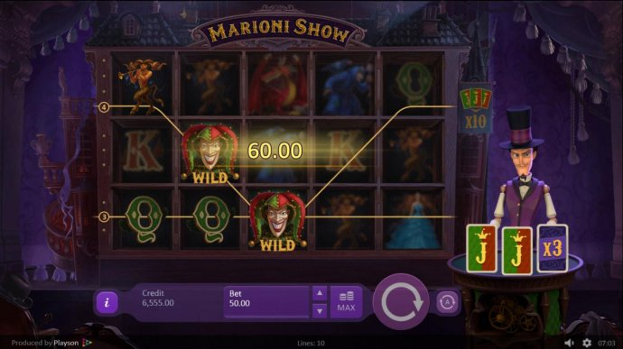 Marioni Show by No Deposit Casino Guide