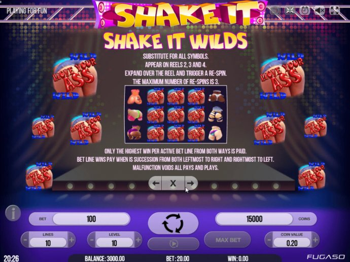 Images of Shake It!