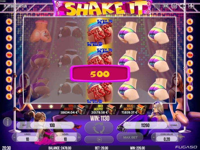 Shake It! by No Deposit Casino Guide