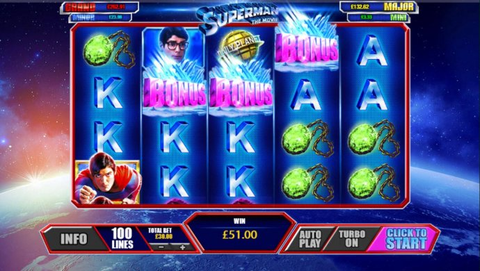 Superman the Movie by No Deposit Casino Guide