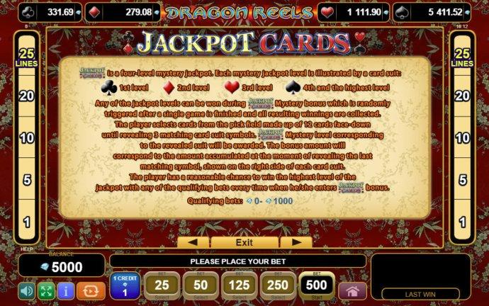 No Deposit Casino Guide image of Dragon Reels
