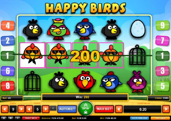 Happy Birds screenshot