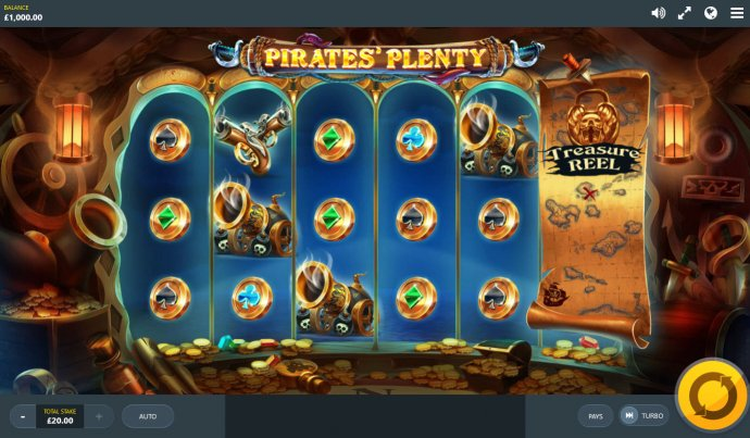Pirates' Plenty The Sunken Treasure by No Deposit Casino Guide