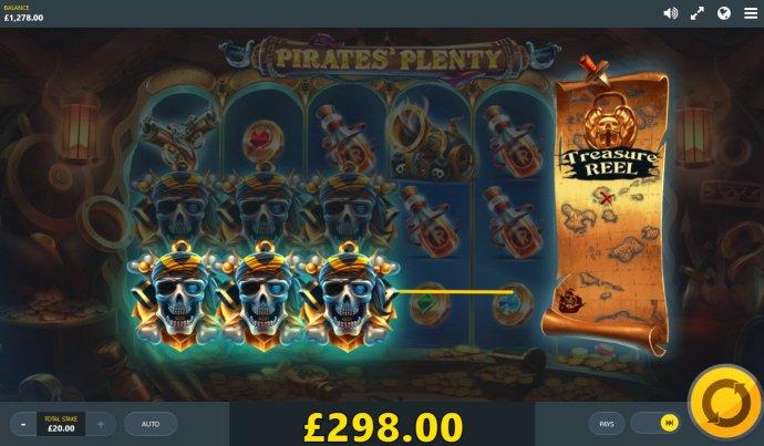 No Deposit Casino Guide image of Pirates' Plenty The Sunken Treasure