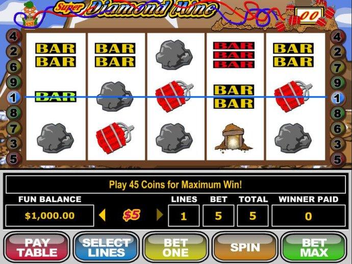 Super Diamond Mine screenshot