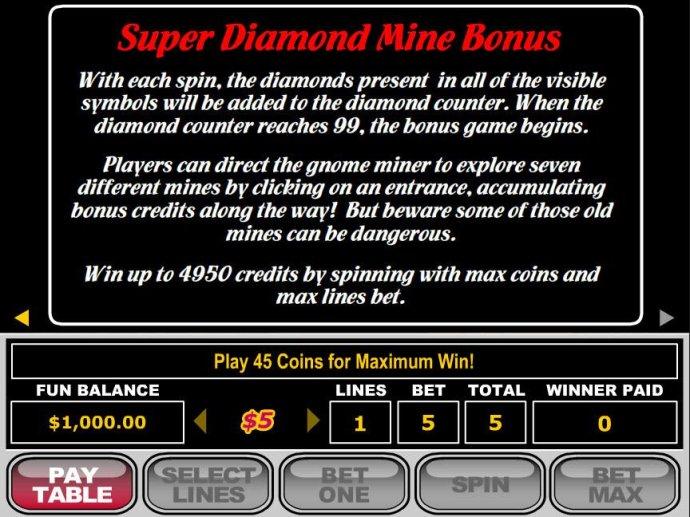 Images of Super Diamond Mine