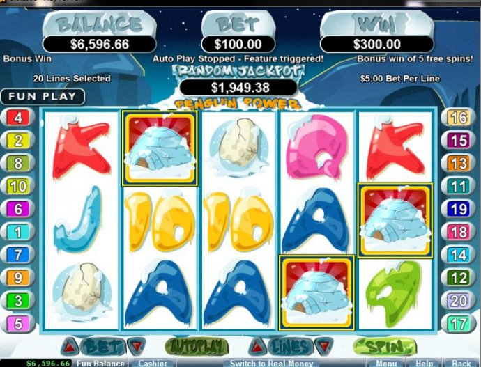 Penguin Power screenshot