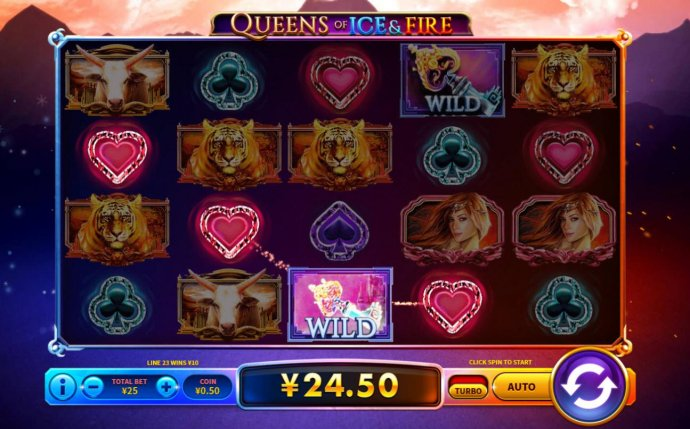 Queens of Ice & Fire by No Deposit Casino Guide