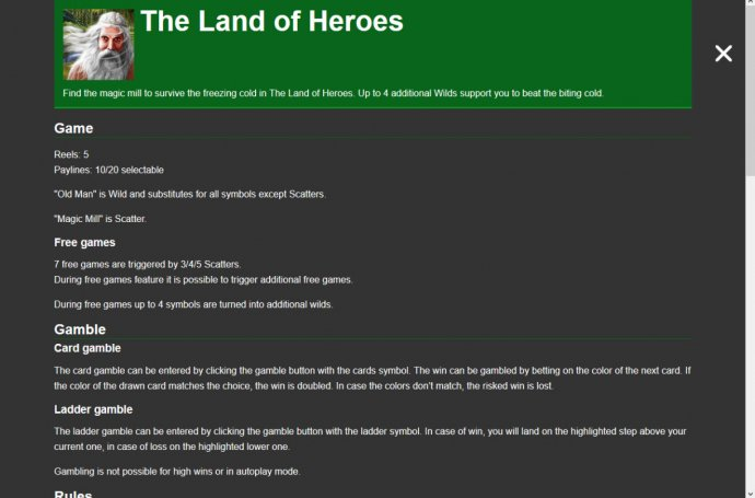 Images of The Land of Heroes
