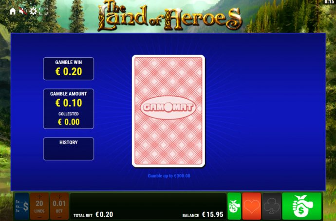 The Land of Heroes by No Deposit Casino Guide