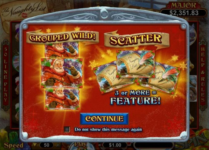 This game features Grouped Wilds and 3 or more Scatter symbols triggers Bonus Feature. - No Deposit Casino Guide