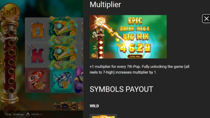 Wild Pops by No Deposit Casino Guide