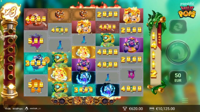 No Deposit Casino Guide image of Wild Pops