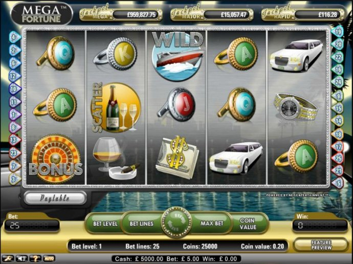 Mega Fortune by No Deposit Casino Guide
