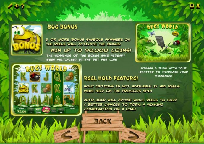 Bug's World by No Deposit Casino Guide
