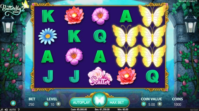 Butterfly Staxx 2 by No Deposit Casino Guide