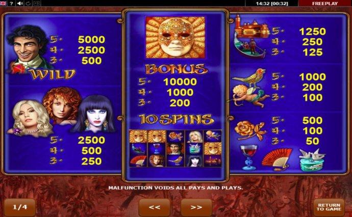 Casanova screenshot