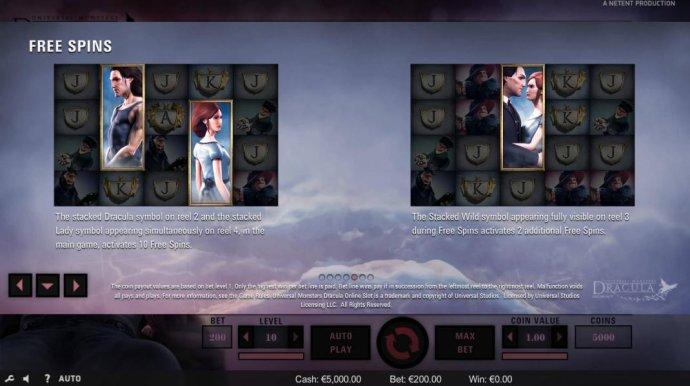 No Deposit Casino Guide image of Dracula