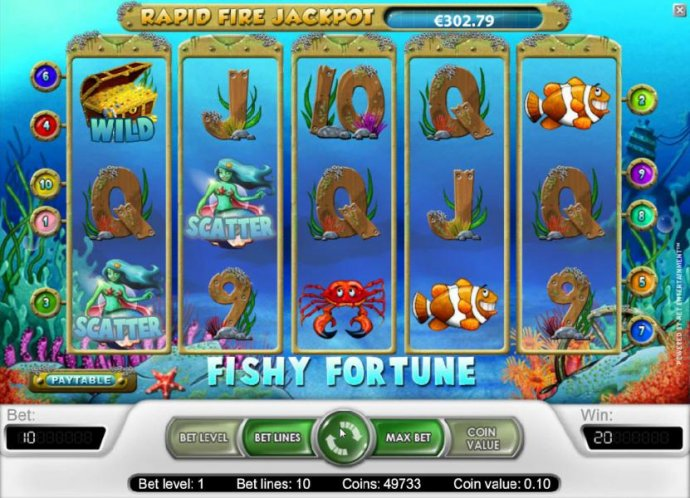 Fishy Fortune by No Deposit Casino Guide