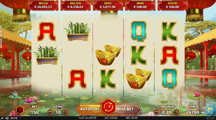 Winning symbols are removed from the reels and new symbols drop in place - No Deposit Casino Guide