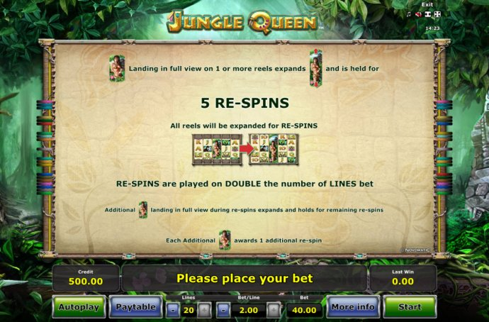 No Deposit Casino Guide - Re-Spins Rules