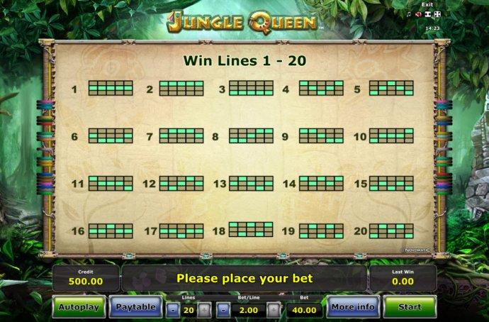 Jungle Queen by No Deposit Casino Guide