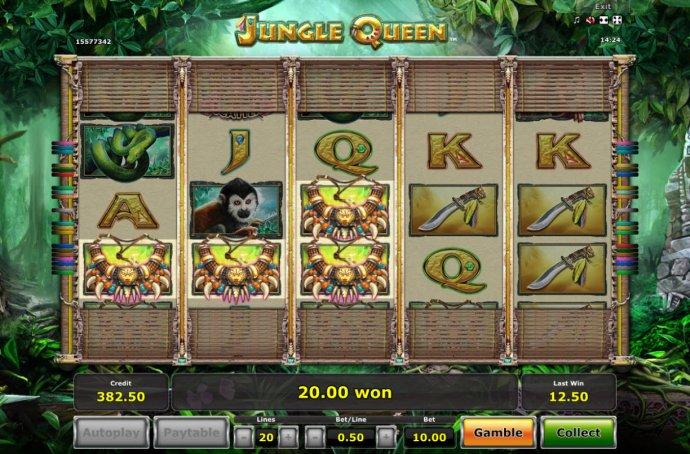 Jungle Queen screenshot
