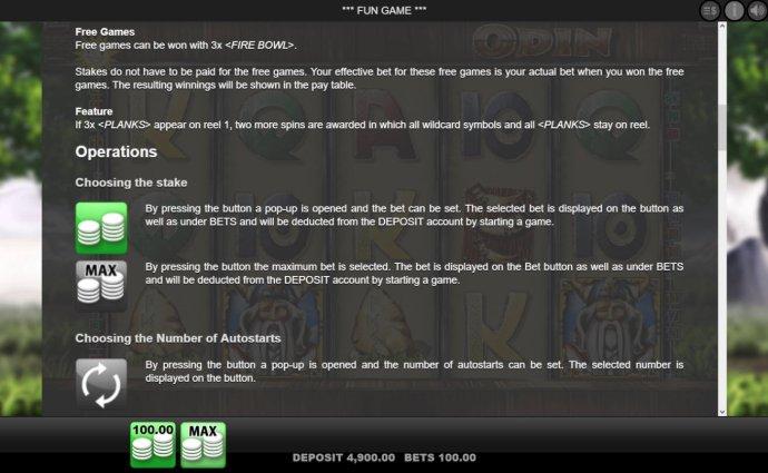 No Deposit Casino Guide image of Odin