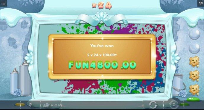 No Deposit Casino Guide - Bonus feature awards a 4800,00 big win.
