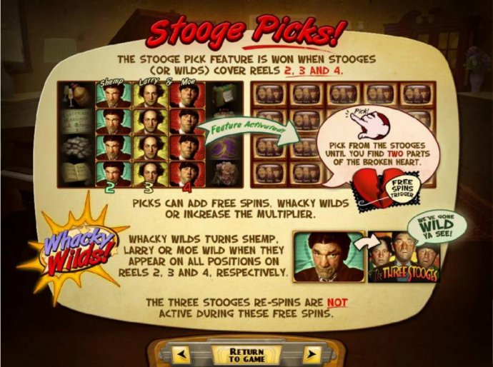 No Deposit Casino Guide image of The Three Stooges Brideless Groom