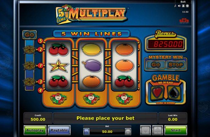 5 Line Mutiplay screenshot