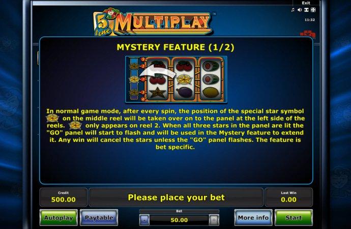 No Deposit Casino Guide image of 5 Line Mutiplay
