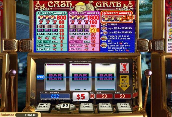 Cash Grab screenshot
