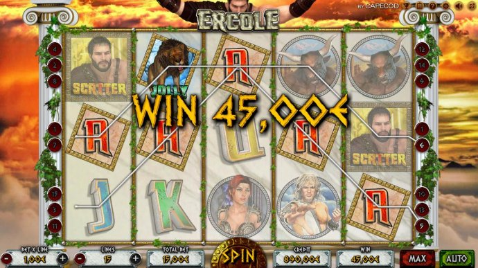 A pair of winning paylines by No Deposit Casino Guide