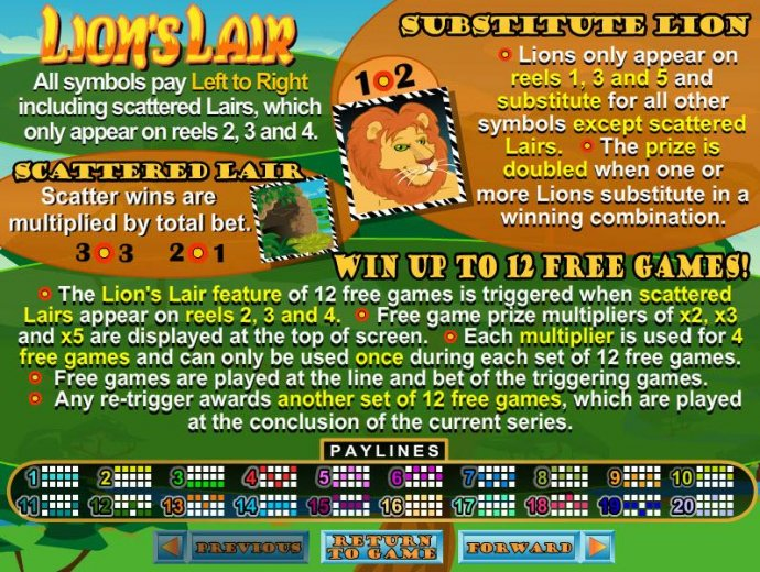No Deposit Casino Guide - Wild, Scatter and Bonus Pays