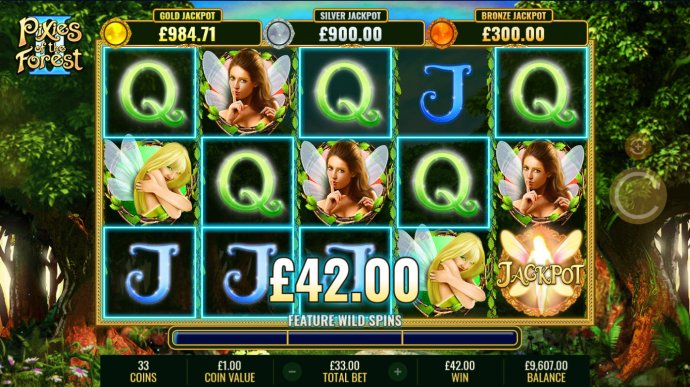 Pixies of the Forest II by No Deposit Casino Guide