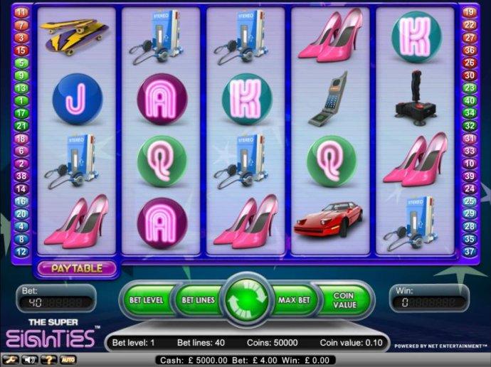 Super Eighties by No Deposit Casino Guide