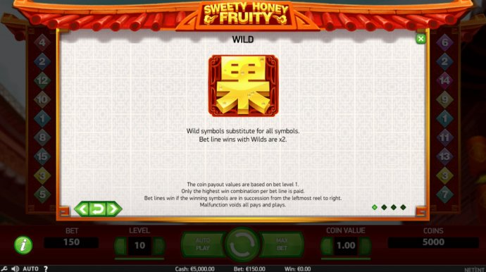 No Deposit Casino Guide image of Sweety Honey Fruity